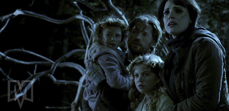 Mama, filme produzido por Guillermo del Toro