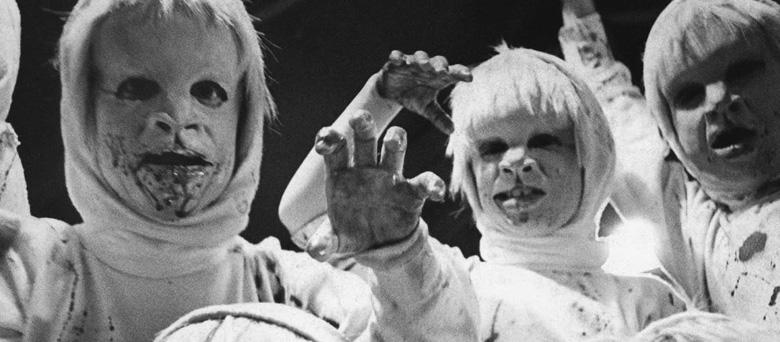 Crianças macabras nos filmes de terror