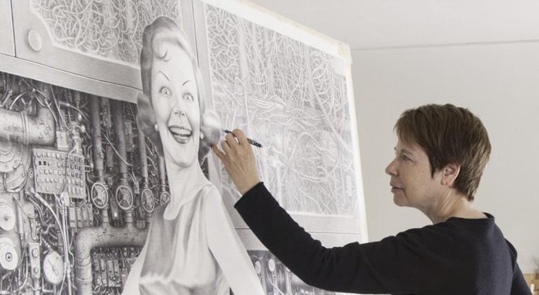 Laurie Lipton, ilustradora