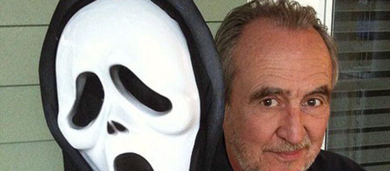 Wes Craven e Ghostface, de Pânico