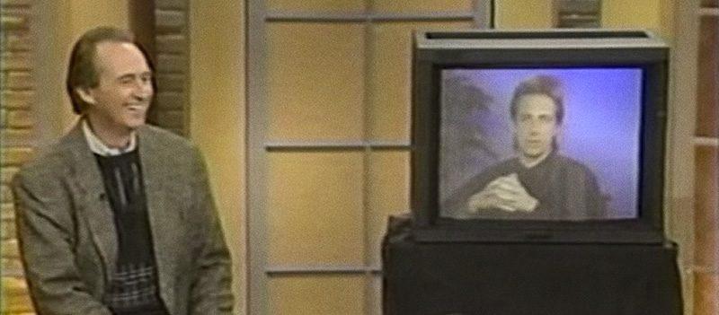 Wes Craven e Clive Barker em Dr. Ruth