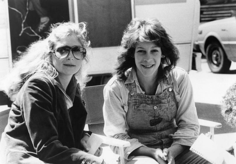 Debra Hill e Jamie Lee Curtis