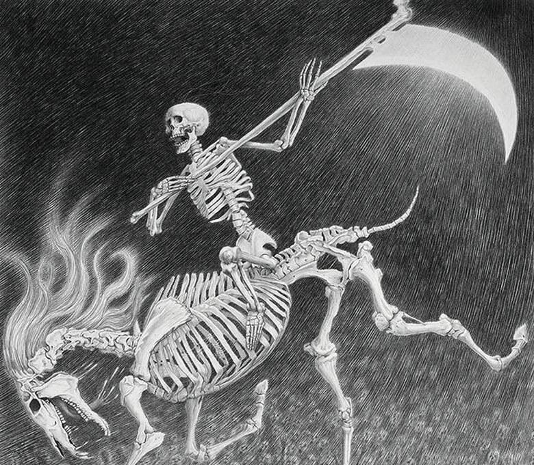 O Quarto Cavaleiro do Apocalipse, de Laurie Lipton