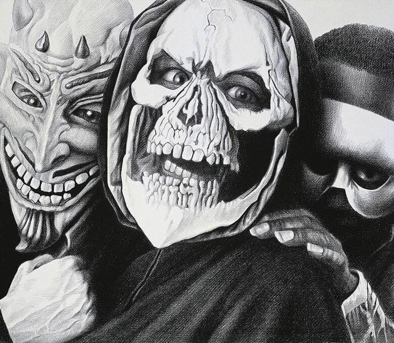 Mascarados, de Laurie Lipton