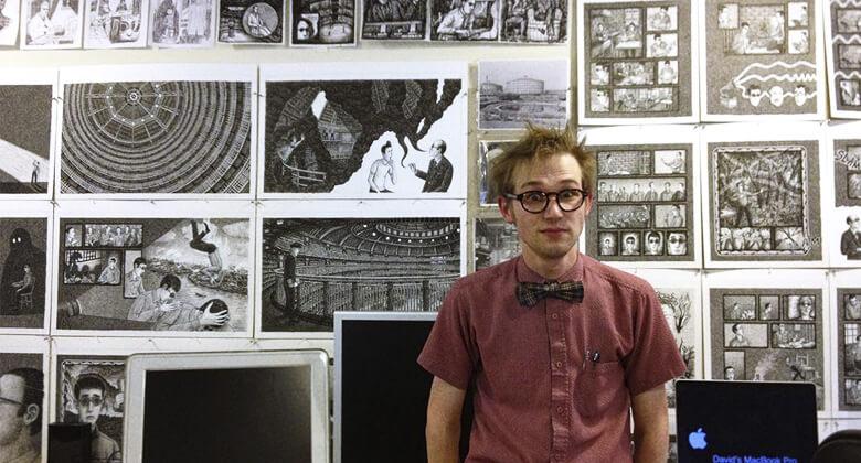 Landis Blair, ilustrador e quadrinista
