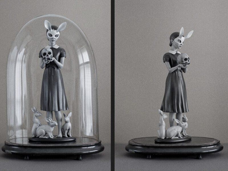 Danny van Ryswyk, artista holandês com peças 3D