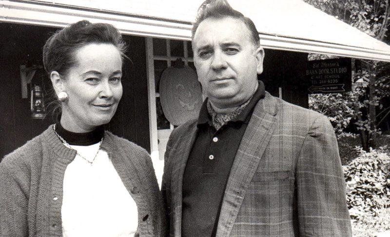 Ed e Lorraine Warren, casal de investigadores paranormais