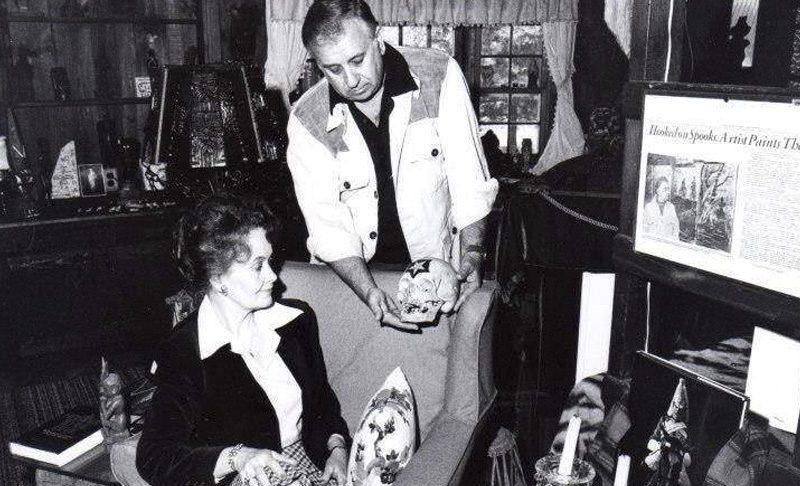 Ed e Lorraine Warren no Museu do Oculto