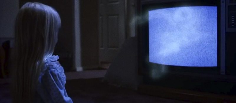 Televisão do Poltergeist, objeto amaldiçoado dos filmes de terror
