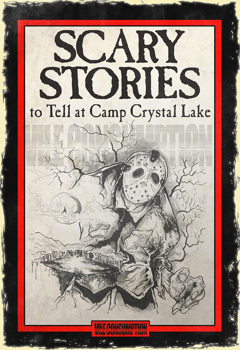 Vile Consumption recria capas de Scary Stories to Tell in the Dark