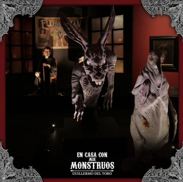 En Casa con mis Monstruos, exposição de Guillermo del Toro