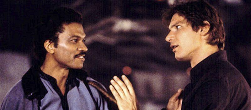 Lando Calrissian e Han Solo em Star Wars