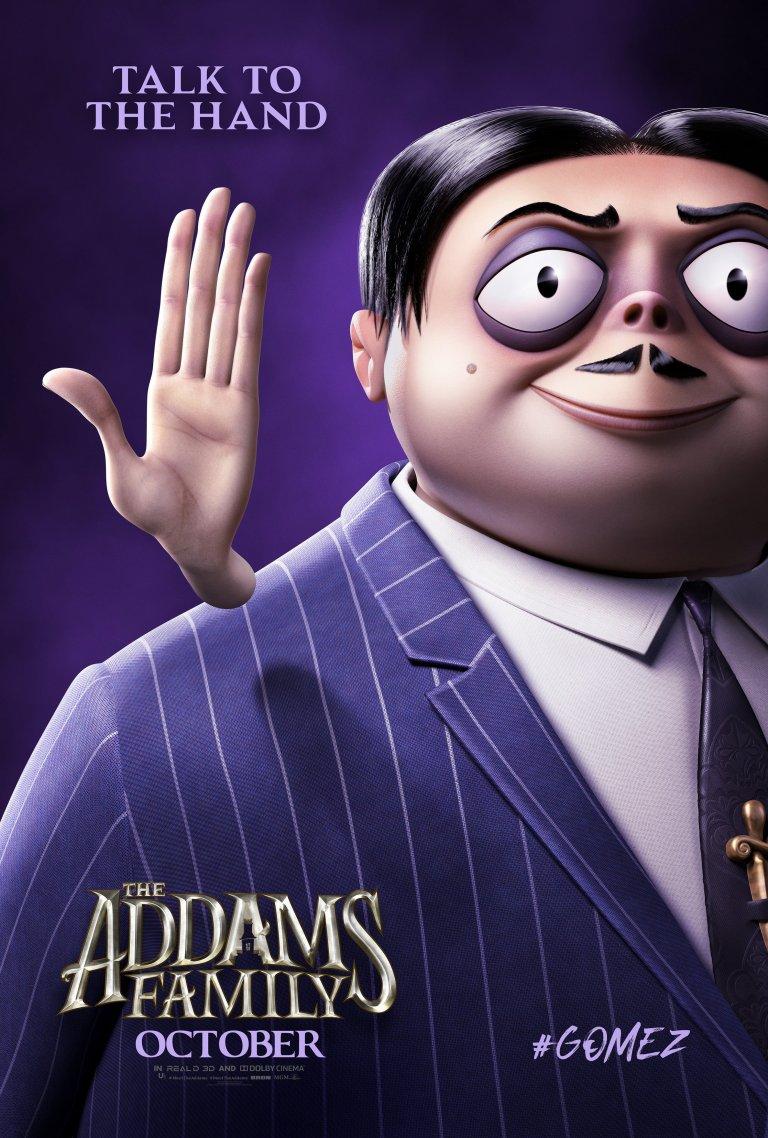 Família Addams (2019): Gomez