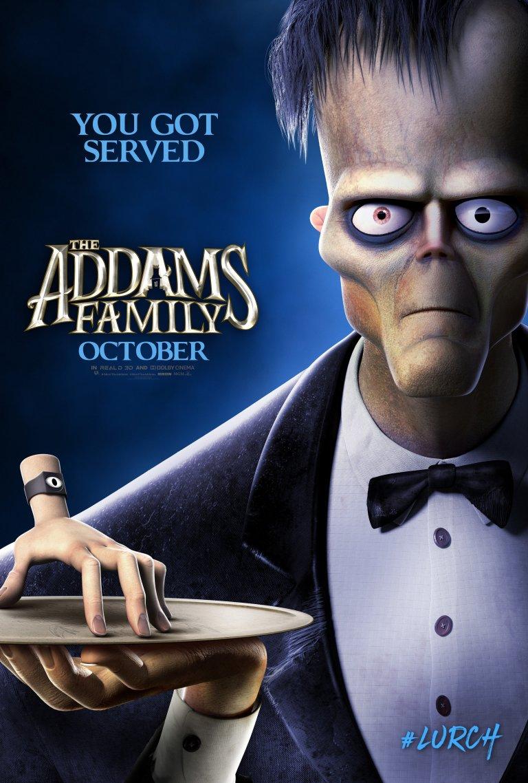 Família Addams (2019): Lurch