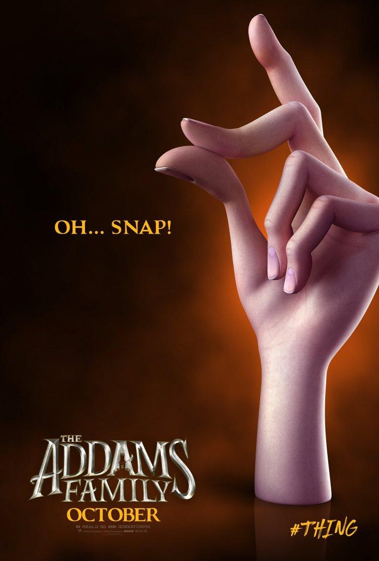 Família Addams (2019): Mãozinha