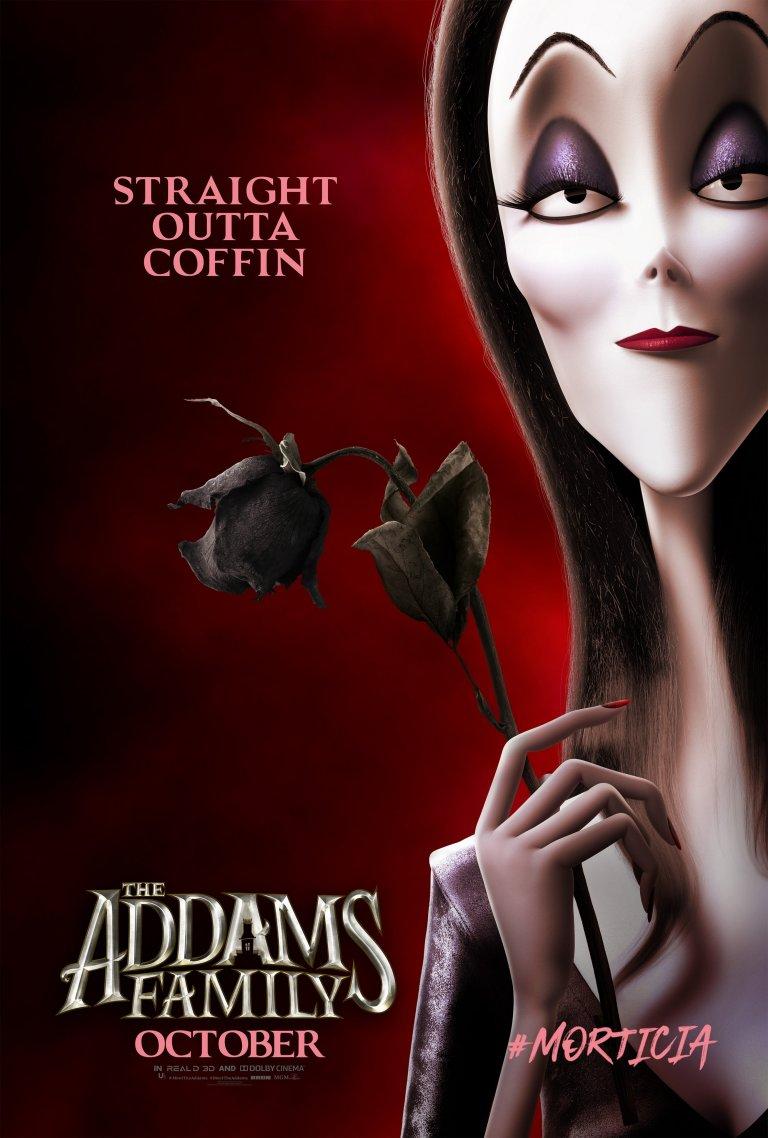 Família Addams (2019): Mortícia