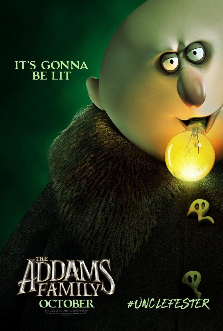 Família Addams (2019): Tio Chico