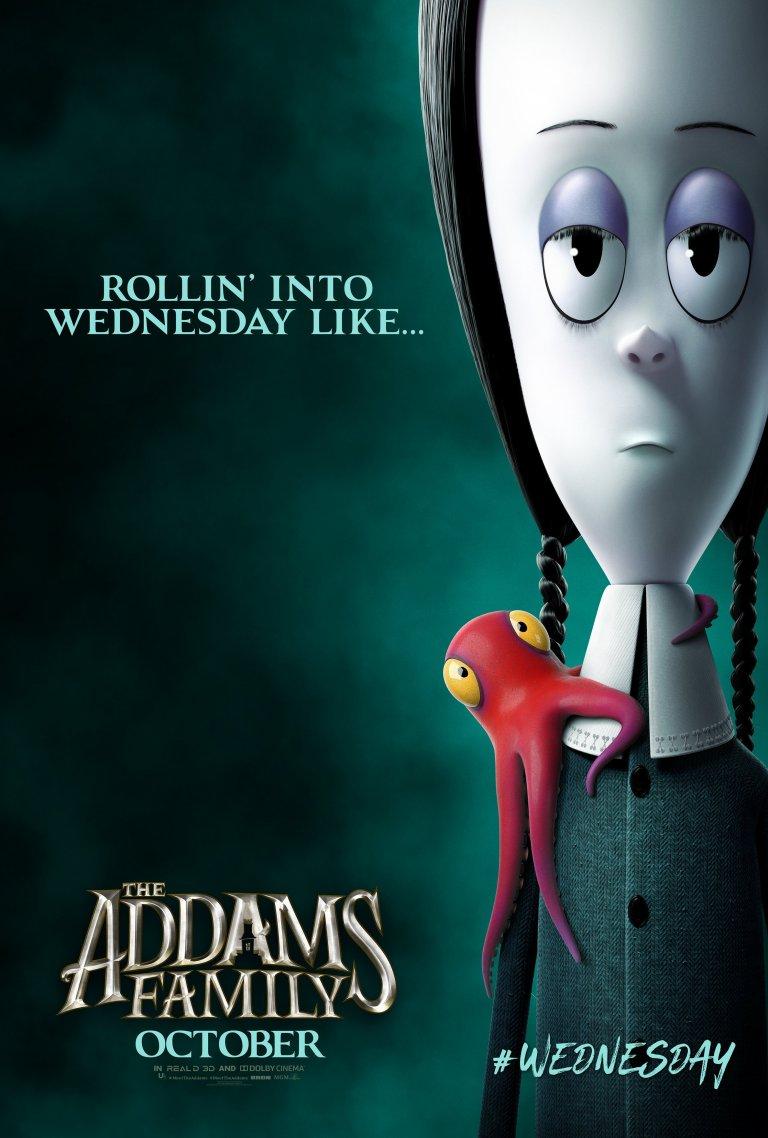 Família Addams (2019): Vandinha