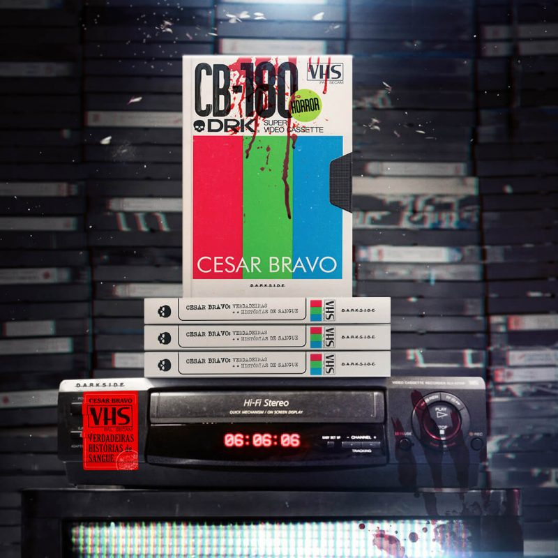 VHS - Verdadeiras Histórias de Sangue, livro de Cesar Bravo