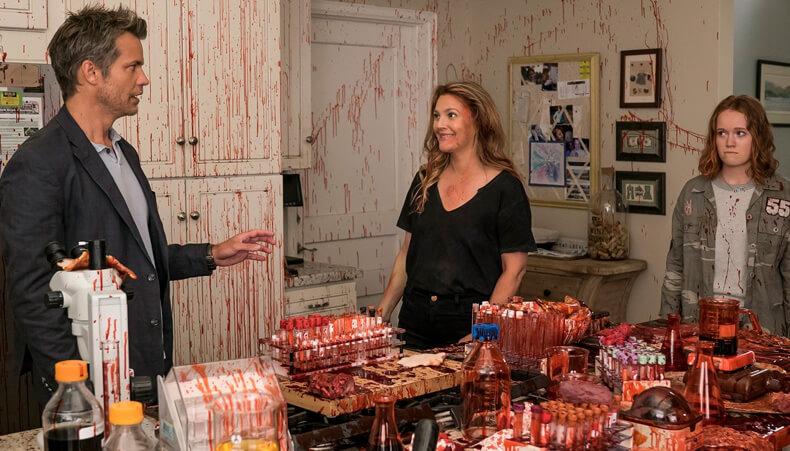 Santa Clarita Diet, série macabra da Netflix