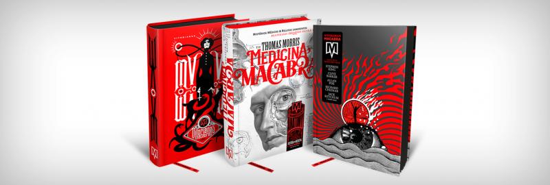 Livros da Macabra, novo selo editorial da DarkSide Books