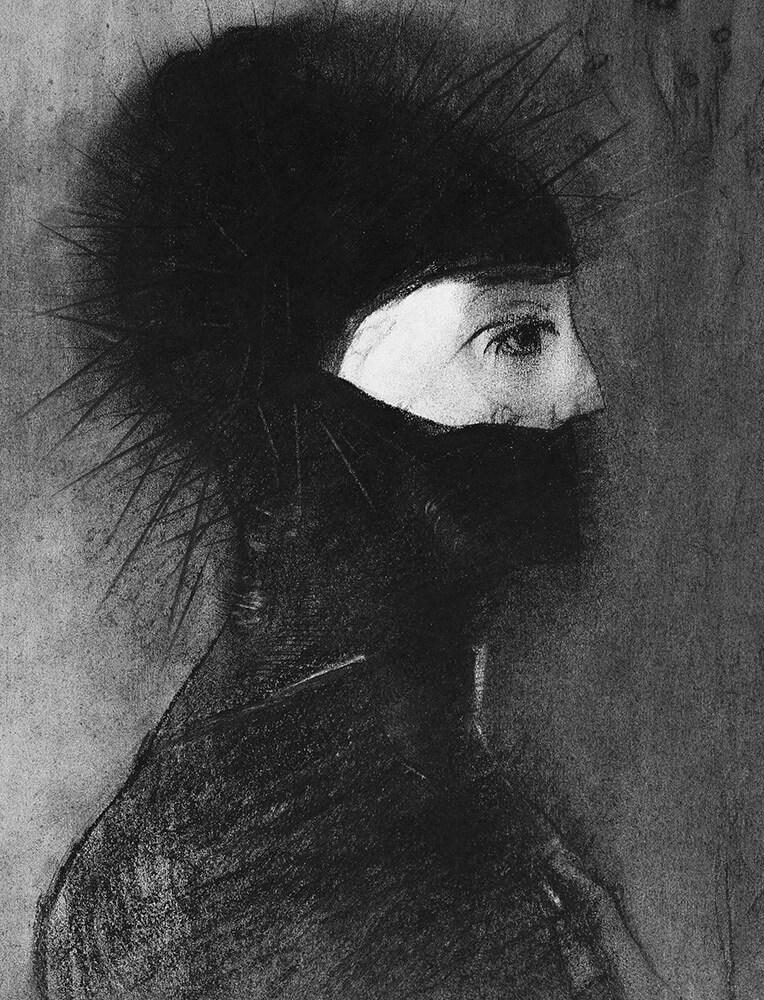 Odilon Redon, artista francês presente na Antologia Macabra