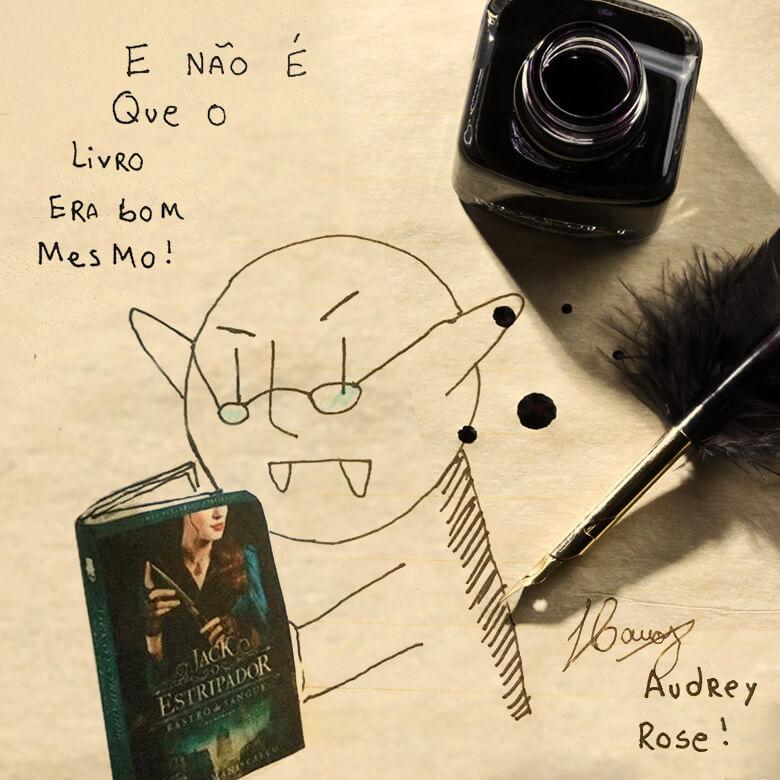 Desenho do Pequeno Nosferatu
