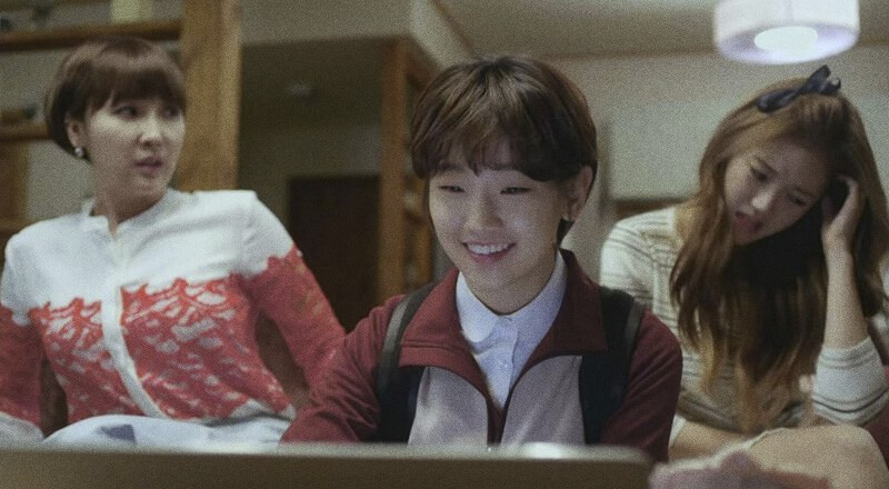 Park So-dam, atriz de Parasita