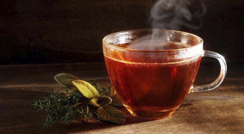 Chá para se recuperar de gripe