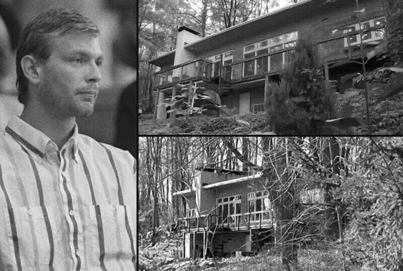 A casa do assassino em série Jeffrey Dahmer