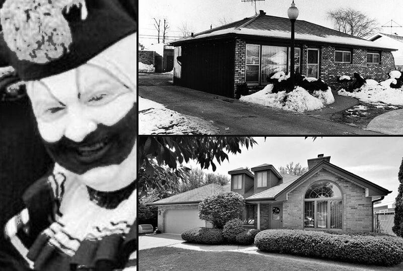 A casa do assassino em série John Wayne Gacy