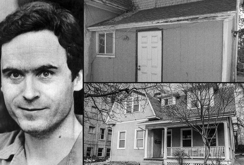 A casa do assassino em série Ted Bundy
