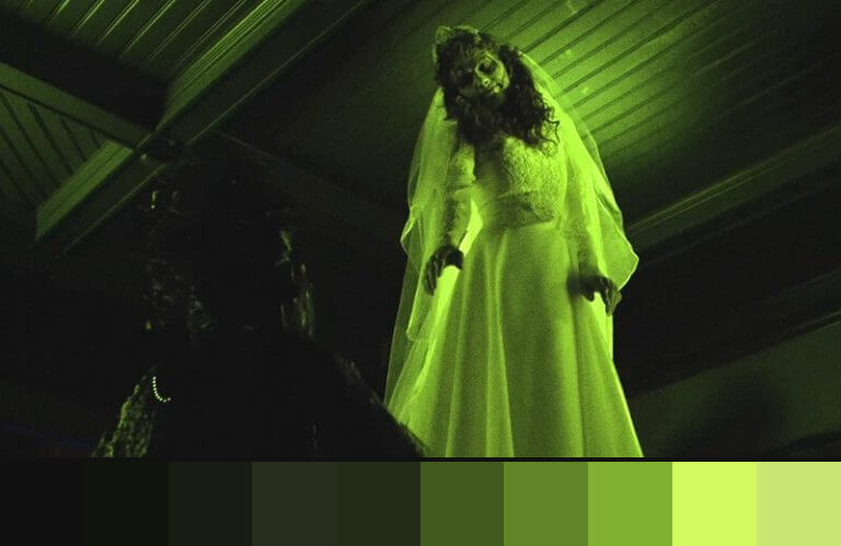 Beetlejuice: uso do verde nos filmes de terror