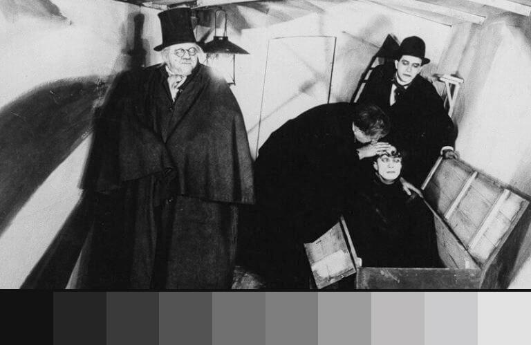 Caligari: uso do preto e branco nos filmes de terror