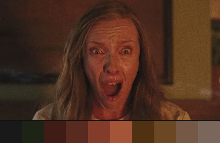 Hereditário: uso do laranja nos filmes de terror