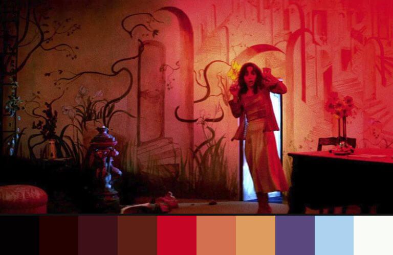 Suspiria: uso das cores nos filmes de terror