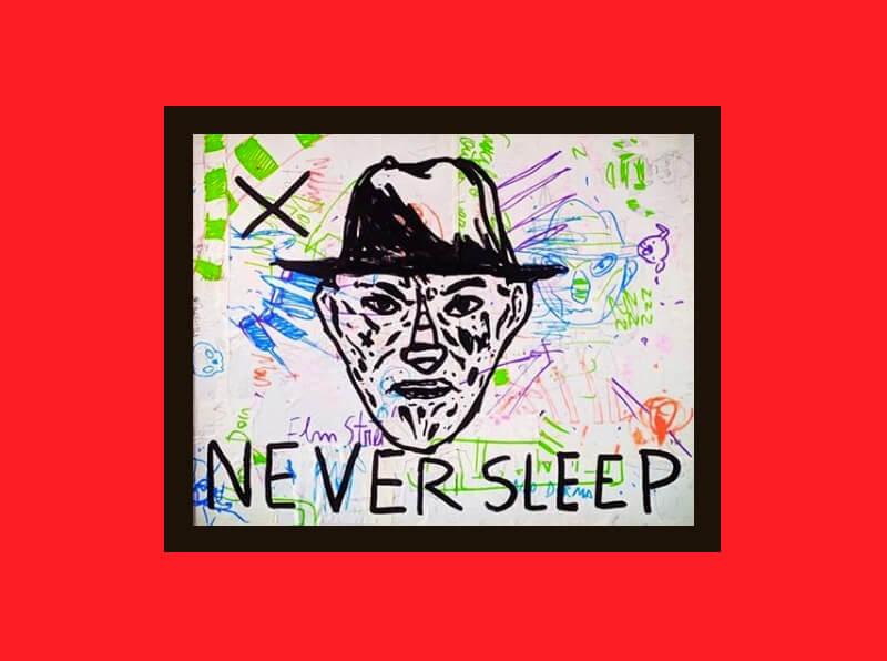 Xilogravuras do horror: Freddy Krueger, por Filipe Marcus