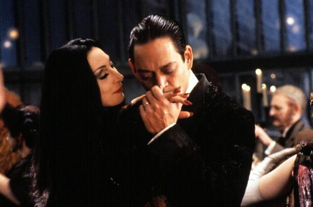 Gomez e Mortícia
